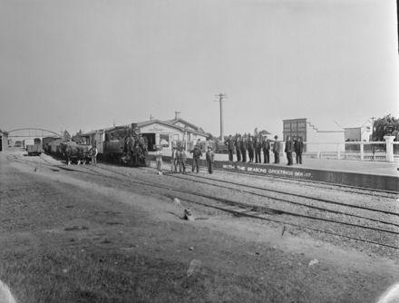 Feilding Railway Station, c. 1906