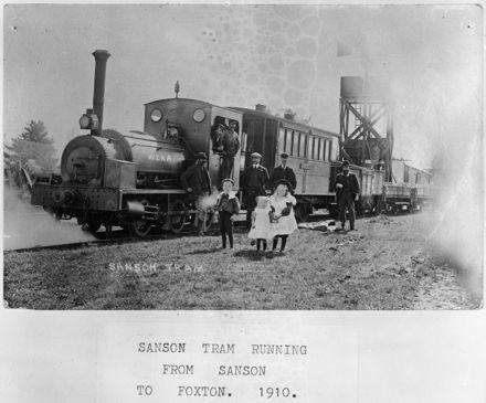 Sanson-Foxton Tram