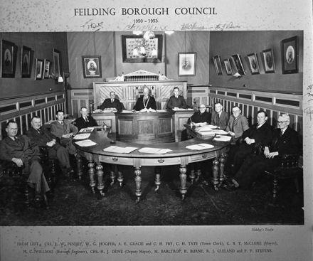 Feilding Borough Council 1950-1953
