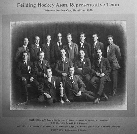 Feilding Hockey Association Representative Team, c. 1920