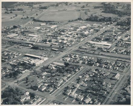 Aerial View of Feilding