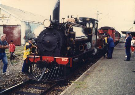 Wab794 Steam Train First Excursion