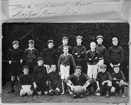Feilding Technical School Rugby Team, c. 1910