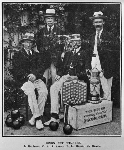 Feilding Bowling Club, c. 1922