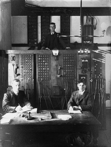 Post Office Staff, c. 1900s