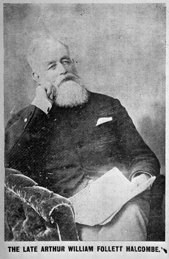 Arthur William Follett Halcombe