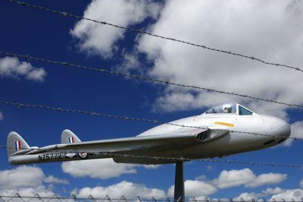 Page 2: Ohakea Main gate aircraft