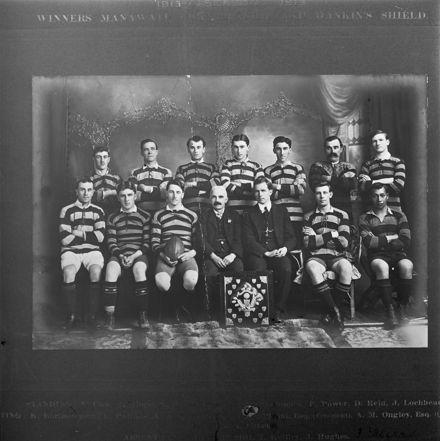 Feilding Football Club, c. 1913