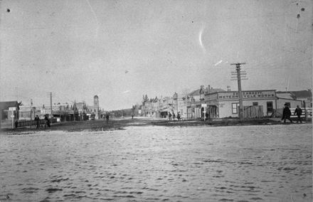 Feilding flood, 1907