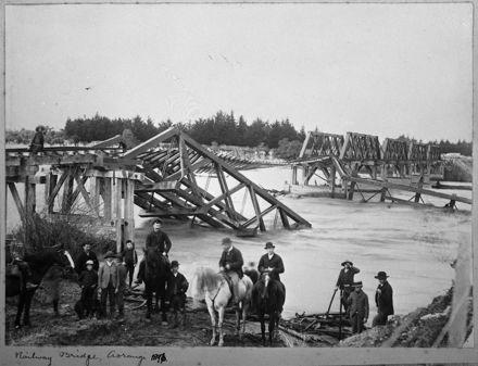 Oroua River flood - 1896