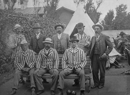 Feilding Bowling Club team - 1902