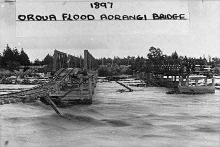 Oroua River Flood - 1897 : 1-6
