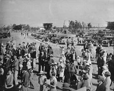 Feilding Aerodrome, c. 1938
