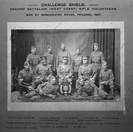 Manchester Rifles, c. 1907