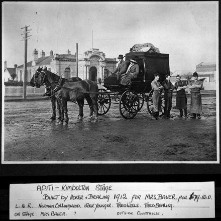 Apiti to Kimbolton Stagecoach