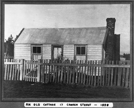 Camden Street Cottage, c. 1898