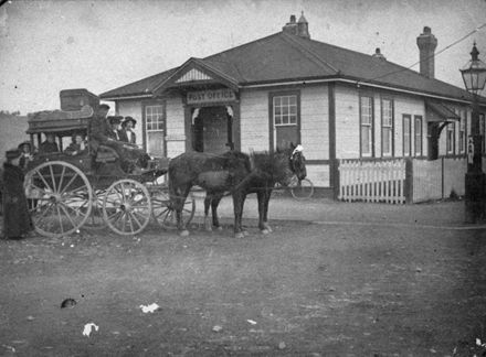 Mail Coach and Apiti Post Office