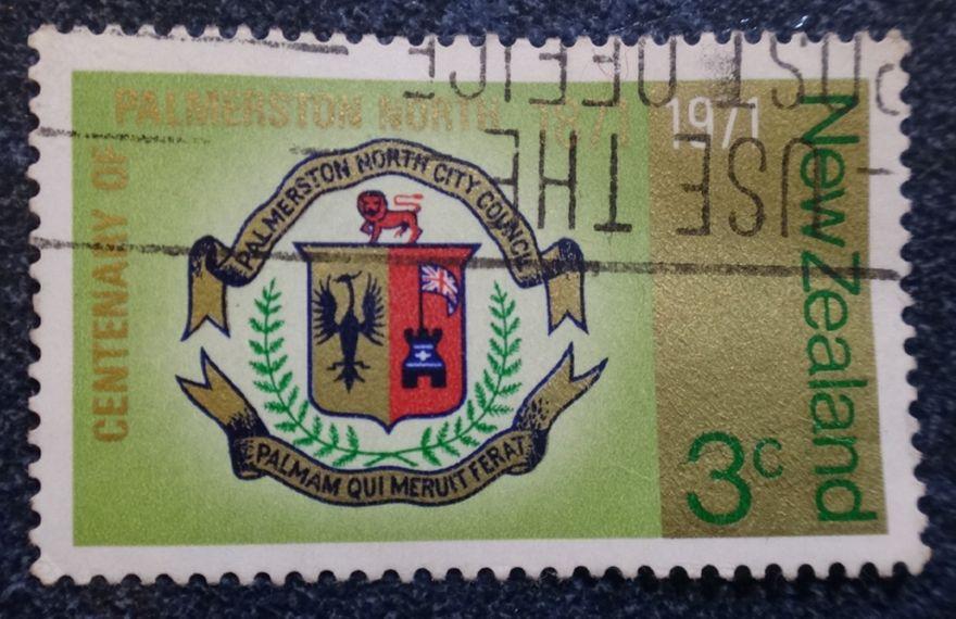 Palmerston North Centennial Postage Stamp