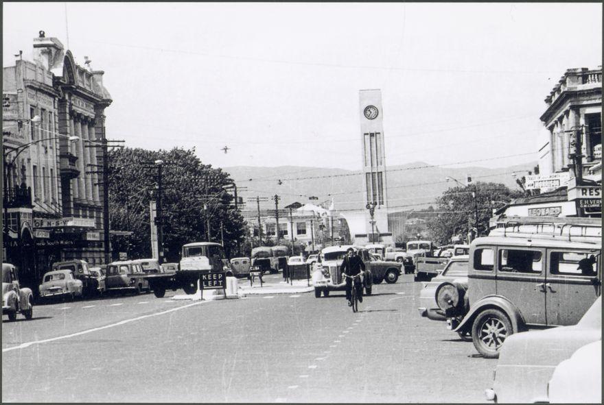 View down Rangitikei Street
