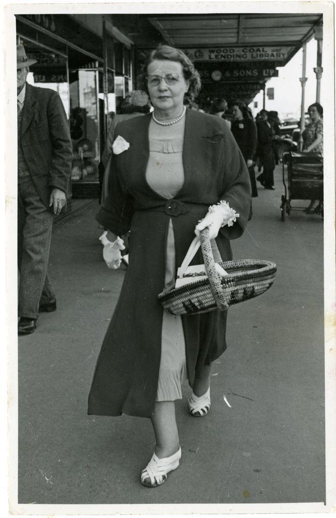 Mrs Kathleen Hickey on Broadway Avenue