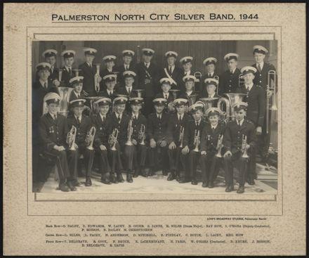 Palmerston North City Silver Band, 1944