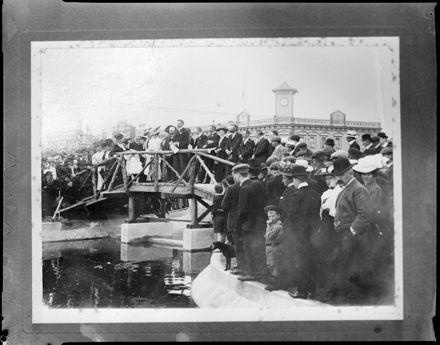 """""""Landmark Removed"""" - Bridge in Square"""