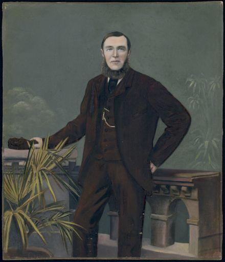 Portrait of Mr Evans