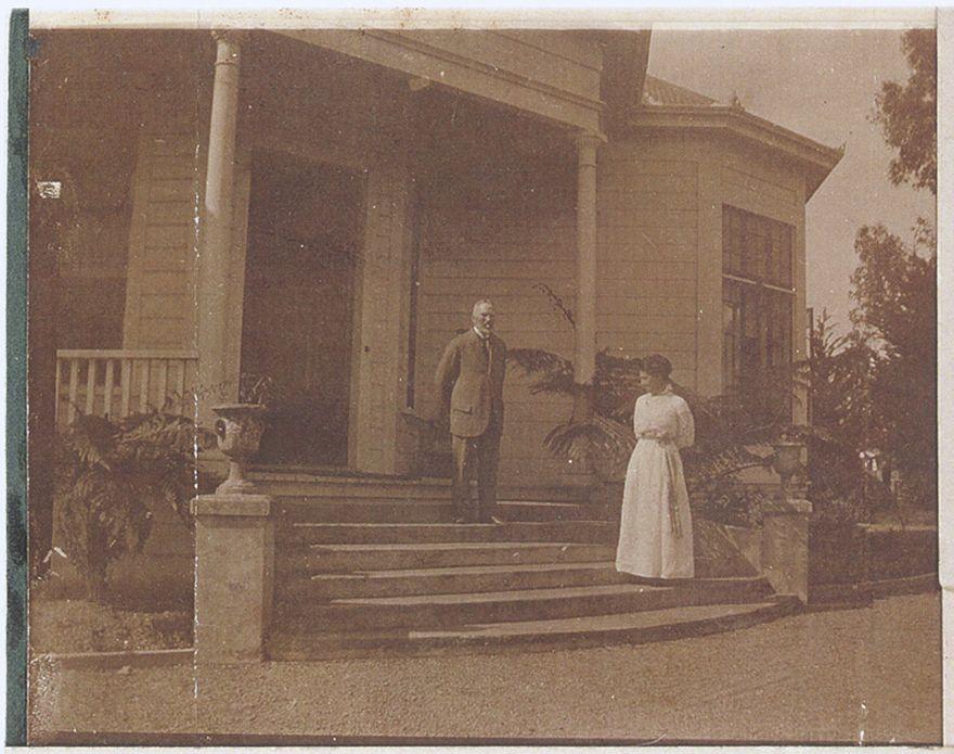 Entrance to Waimarama, 46 Alfred Street