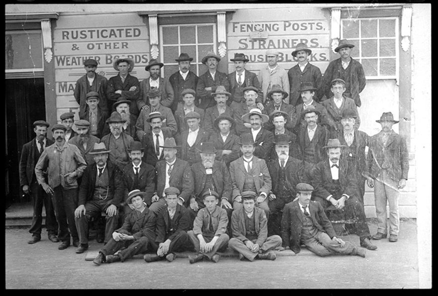Employees of Palmerston North Sash and Door Co. Ltd.