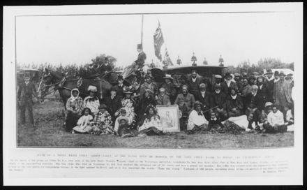 Funeral of Kerei Te Panau