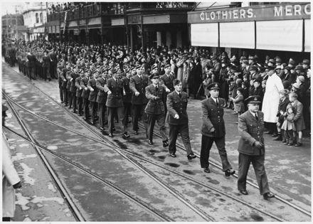 RNZAF parade