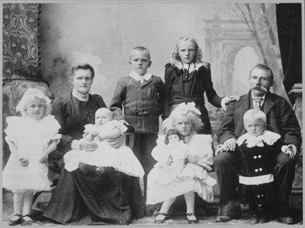 Christensen or Clausen family