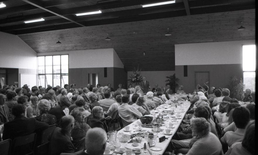 Former President Jimmy Carter at Central Baptist Church