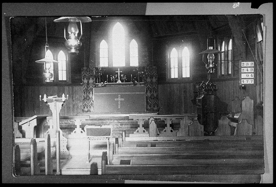Interior of Anglican Church, Ashhurst