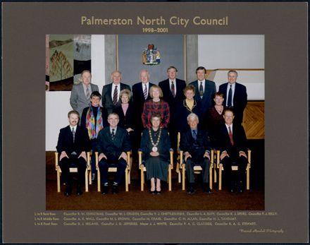 Palmerston North City Council 1998 - 2001