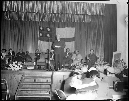 Prime Minister Opens (Maori Welfare League) Conference