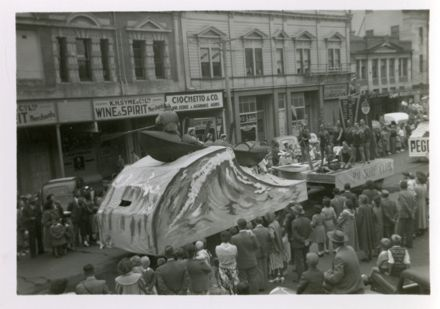 Surf Club float, 75th Jubilee Parade