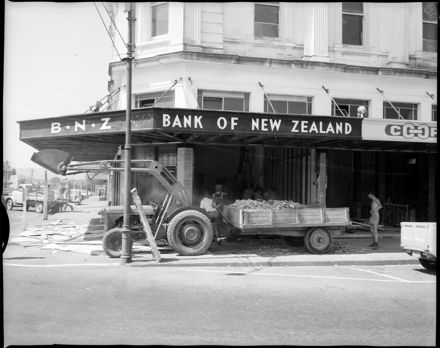 """Open, But Not For Business"" [Bank of New Zealand]"