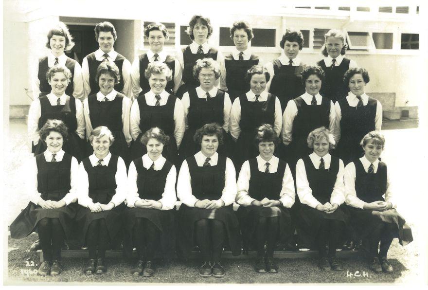 4th Form Class, Freyberg High School, 1960