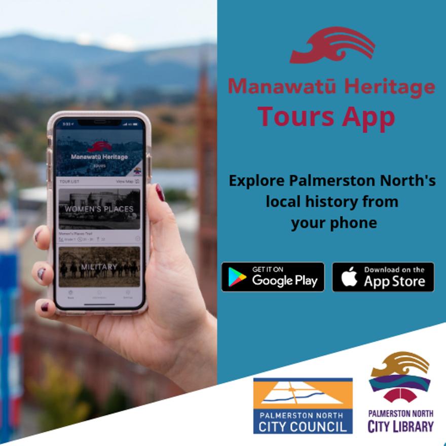 Manawatū Heritage Tours App