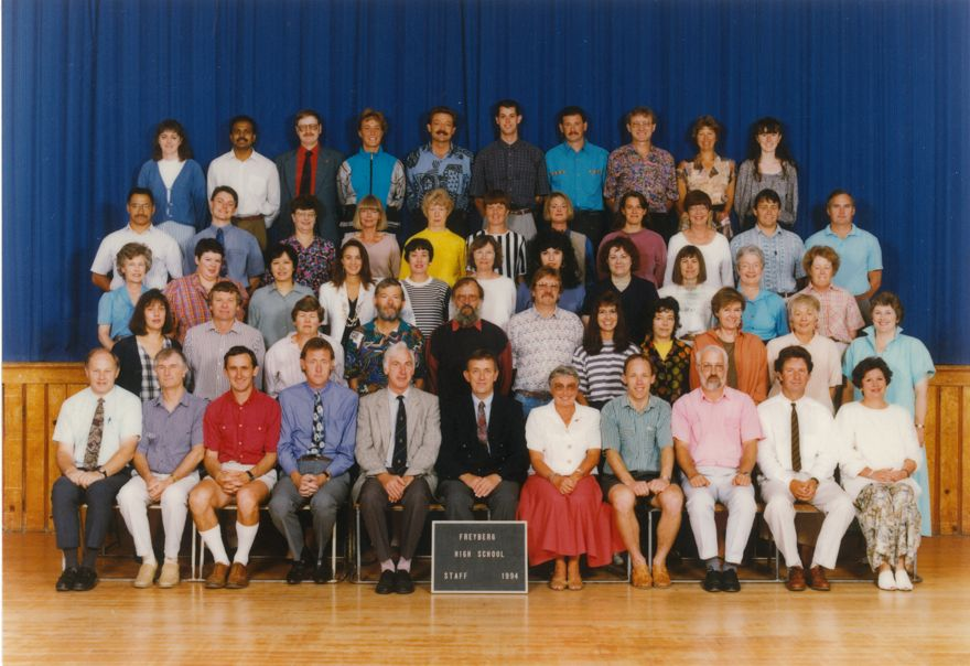 Freyberg High School - Staff of 1994