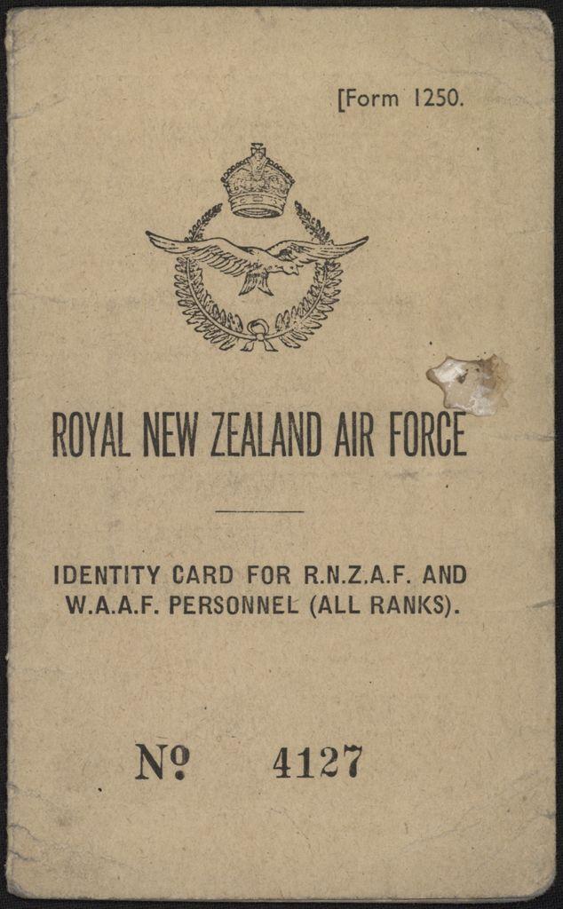 Philip Fowler identity card