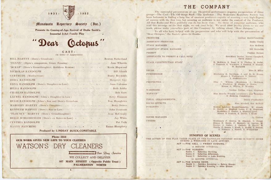 """Dear Octopus"" play programme - 3"
