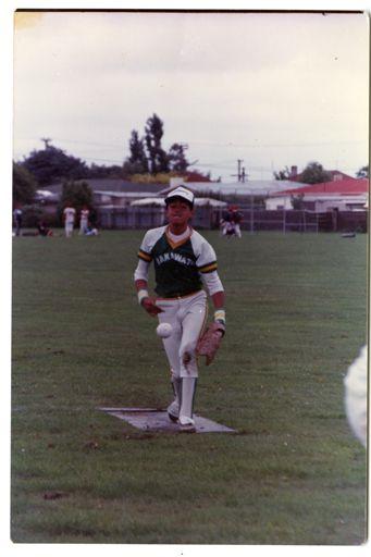 Softball at Monrad Park
