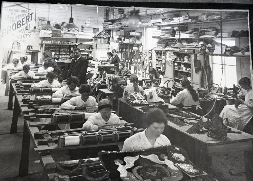 Interior of Percy Robêrt's Regalia Factory