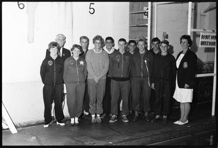 """Representative Team For NZ Champs"" [Swimming]"