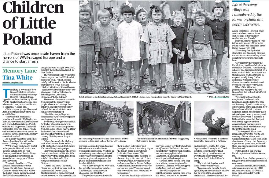 "Memory Lane - ""Children of Little Poland"""