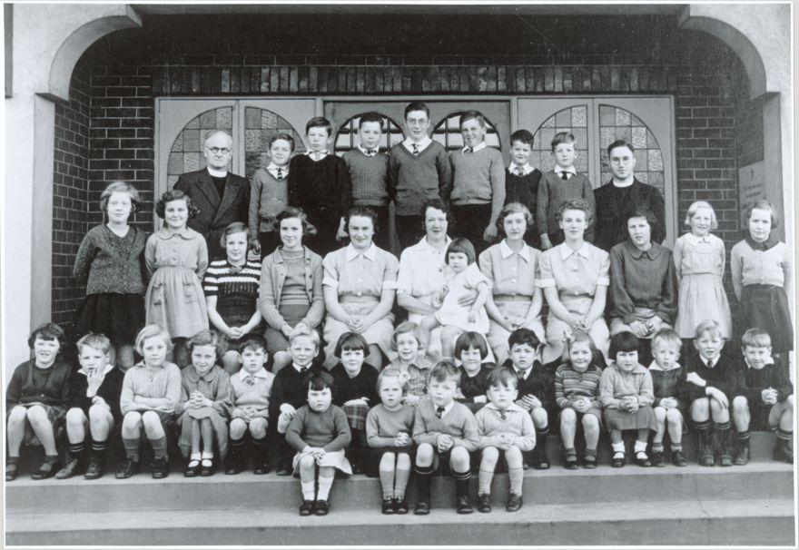 Children and staff of All Saints Children's Home